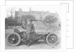 Charles Stewart Rolls with a 1905 Wolseley by Anonymous