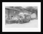 1933 Bedford 2 ton WLG truck used as a travelling shop by Anonymous