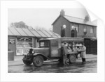 Mobile confectionery shop, a 1932 Bedford 30cwt WS lorry by Anonymous