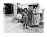 Early AA telephone box by Anonymous