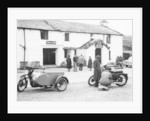 1954 RAC Norton motor bike and side-car by Anonymous