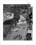 Start of the Monaco Grand Prix by Anonymous