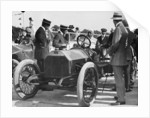 1909 Lancia Beta, WL Stewart at the wheel by Anonymous