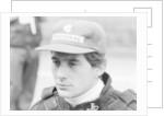 Ayrton Senna at the British Grand Prix by Anonymous