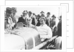 Henry Segrave at the wheel of a 1922 Sunbeam by Anonymous