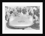 Bernd Rosemeyer and Ferdinand Porsche with Auto Union by Anonymous