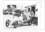 Kay Petre and Austin Seven, Brooklands, 1936 by Unknown