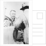 Barney Oldfield, pace car driver for the Indianapolis 500 by Anonymous