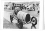Raymond Mays in a Bugatti Brescia, 1970s by Unknown