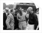 Stirling Moss with Harry Schell and Mike Hawthorn by Anonymous