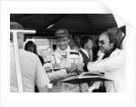 Niki Lauda, F1 driver for Marlboro McLaren, at the European Grand Prix by Anonymous