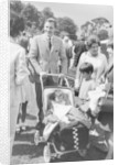 Graham Hill with his family by Anonymous