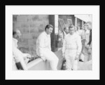 Graham Hill and Jackie Stewart by Anonymous