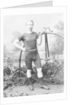 Ralph Clifton with a penny farthing by Anonymous