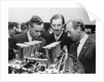 Graham Hill with Colin Chapman by Anonymous