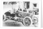 WO Bentley at the wheel of his DFP car by Anonymous