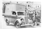A Ford emergency food van by Anonymous