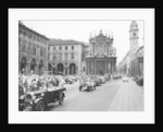 Fiats at a rally by Anonymous