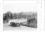 1933 Andre V6 competing in a hill climb by Anonymous