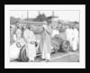 Von Brauchitsch with a 3 litre Mercedes Benz at the Donington Grand Prix, 1938 by Unknown