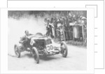 Zborowski driving a 1922 Aston Martin 1.5 litre 'Strasbourg' at Shelsey Walsh by Anonymous