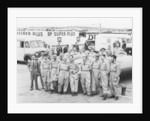 Donald Campbell and the Bluebird team by Anonymous