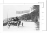 T Thornycroft in a Thornycroft car in a TT race by Anonymous