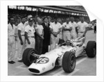 AJ Foyt in Lotus-Ford, Indianapolis 500, Indiana, USA, 1965 by Unknown