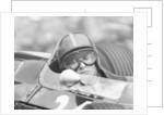 Chris Amon in a Lotus 25-BRM V8 by Anonymous
