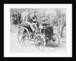 Emile Levassor in a Panhard-Levassor by Anonymous