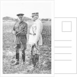 Field Marshal Sir Douglas Haig and General Francois Anthoine by Anonymous
