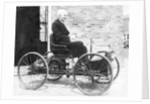 Henry Ford on a 1896 Ford by Anonymous