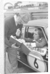 Graham Hill and Bernie Ecclestone by Anonymous