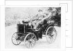Evelyn Ellis driving an 1895 Panhard by Anonymous