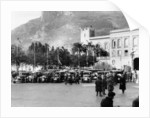 The Finish of the Monte Carlo Rally, 1929 by Unknown