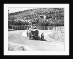 Kenelm Lee Guinness in a 6 cylinder Sunbeam, French Grand Prix, Lyons, 1924 by Unknown