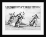 A speedway race by Unknown