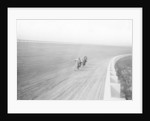 Motorbikes racing at Speedway Park, Maywood, Chicago, Illinois, USA, 1915 by Unknown