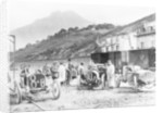 Participants in the Targa Florio race, Sicily, April 1907 by Unknown