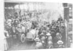 Vincenzo Trucco at the start of the Targa Florio by Anonymous