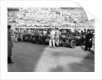 A line of Alfa Romeos at the Monaco Grand Prix by Anonymous