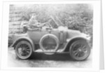 Woman in a 1911 convertible Renault AX, c1911 by Unknown