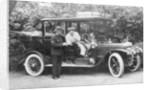 1909 Daimler by EW Woodbine