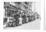 1910 Darracq taxis by Anonymous