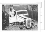 Wreck of a 1939 Austin 10 by Unknown