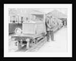 Rolls-Royce Silver Ghost locomotive on the Romney, Hythe & Dymchurch Railway by Anonymous