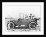 An Austin Seven Chummy with passengers by Anonymous
