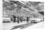 Ford production line, Genk factory by Anonymous