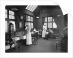 First aid room, Wolseley car factory by Anonymous