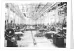 Machine shop in the Argyll car factory by Anonymous